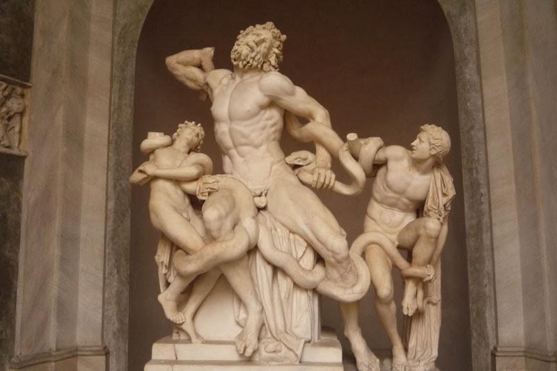 laocoonte - Os Museus Vaticanos