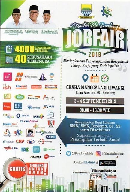 Job Fair Kota Bandung Terbaru