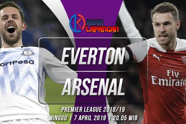 Prediksi Bola Everton vs Arsenal Liga Inggris