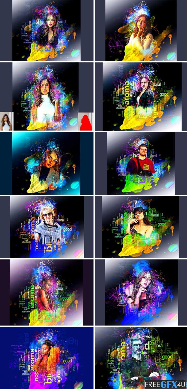 Paint Splash Photoshop Action