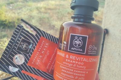 APIVITA orange & honey hair care
