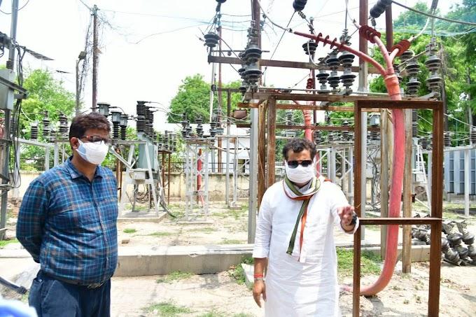 ऊर्जा मंत्री ने 24 घंटे निर्बाध विद्युत आपूर्ति में जुटे कार्मिकों का किया अभिनंदन