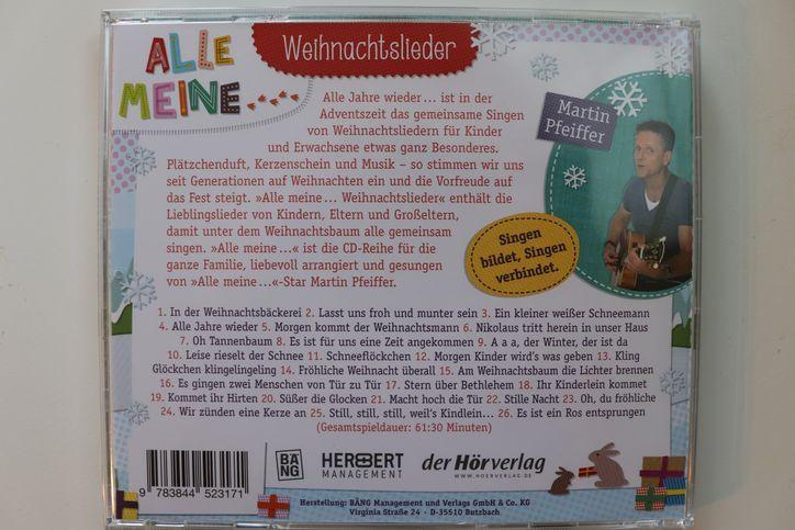 Hörbuch-Vorstellung-Alle-meine-Weihnachtslieder-Steiermarkgarten