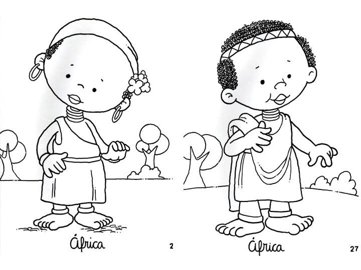 Dibujos De Las Culturas Del Mundo Para Colorear: SGBlogosfera. María José Argüeso: CULTURAS DIFERENTES