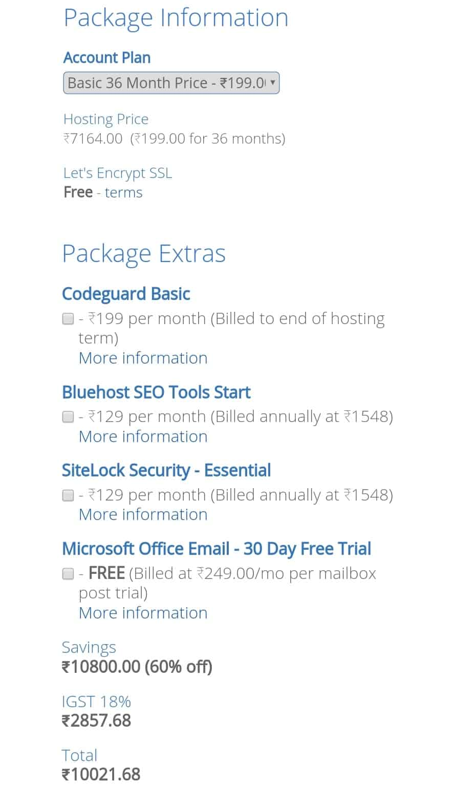 How to buy hosting from Bluehost in hindi
