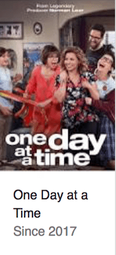 Best TV Shows One Day at a Time