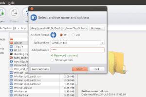 B1 Free Archiver - Mais amigável simples e gratuito compactador de arquivos