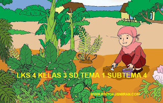 LKS 4 KELAS 3 SD TEMA 1 SUBTEMA 4