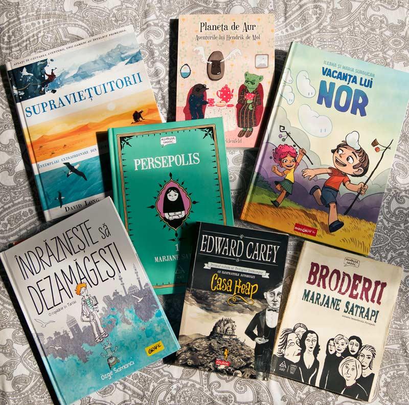 recomandări cărți grafice ilustrate