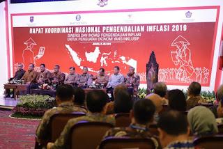 Wabup Amir Sakib Hadiri Rakornas TPID ke X Tahun 2019