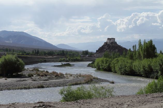 Stakna Gompa and the Indus River, Ladakh