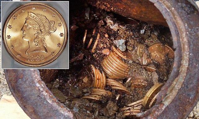 rare coin found in a river