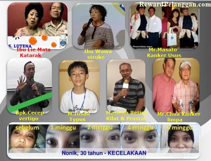 Testimoni Jantung & mata plus, minus, silinder kembali sehat berkat S Lutena