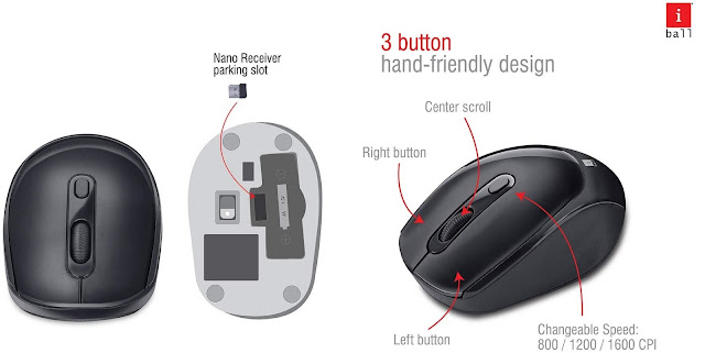 iBall Wireless Keyboard and Mouse