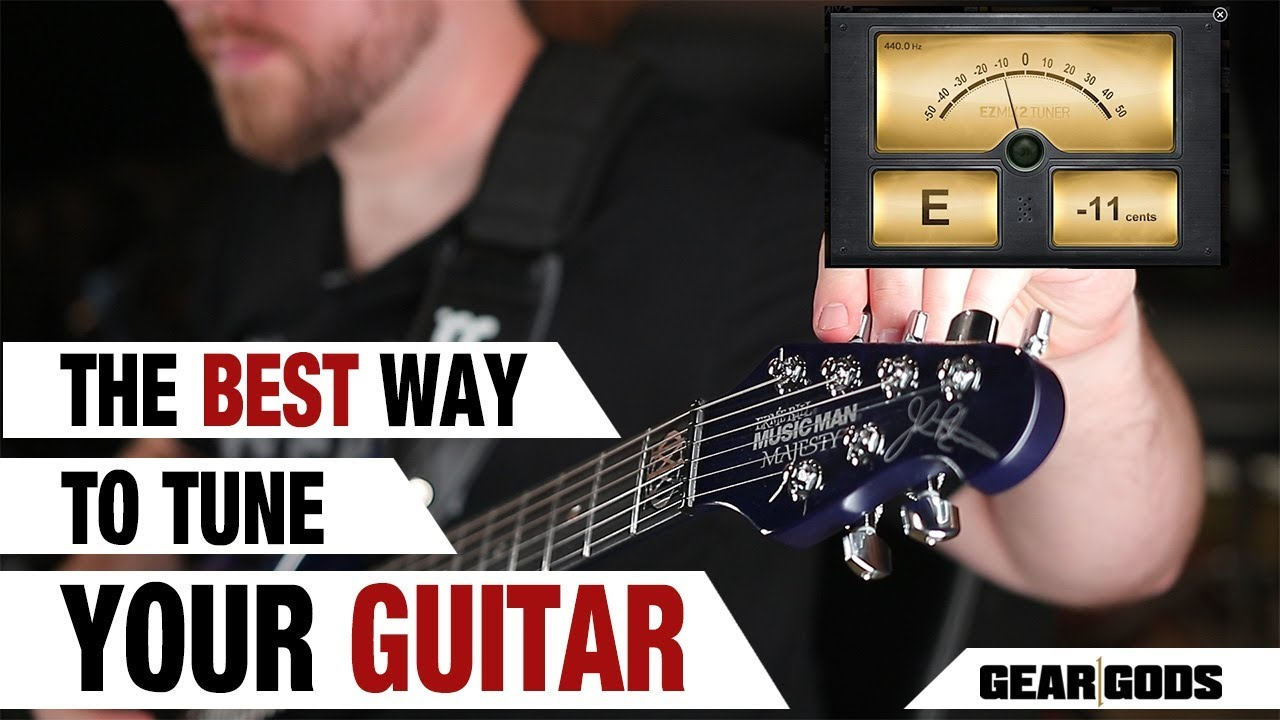 The BEST Way To Tune Your Guitar!