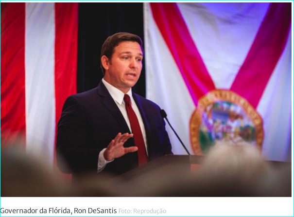 A Flórida dos EUA contra a DITADURA SANITÁRIA: vai multar quem exigir PASSAPORTE SANITÁRIO