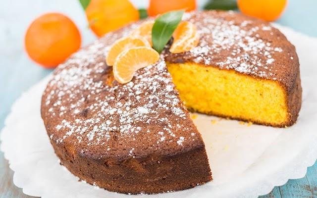 Αφράτο κέικ μανταρίνι