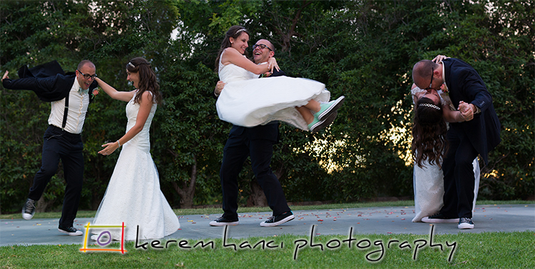 As husband and wife, Phoebe and Ben had a lovely choreographed dance!