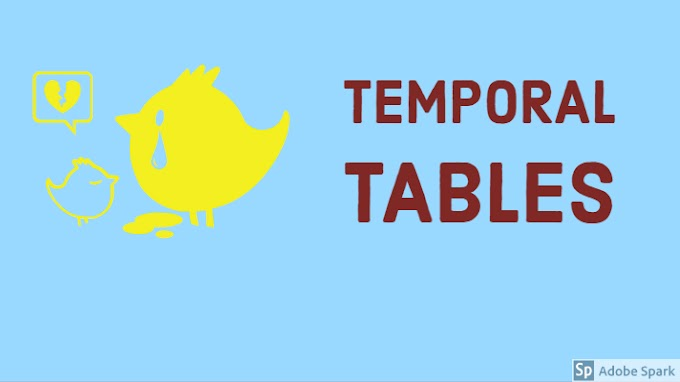 3 Types of Temporal Tables in Teradata