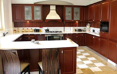 Suasana Dapur Yang Nyaman