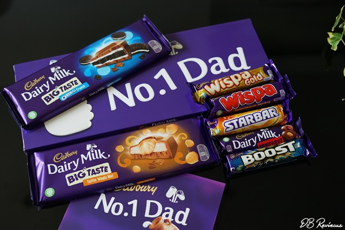 Dad's chocolate gift from Cadbury