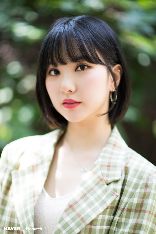 Gfriend Eunha Become The Goddess Of Short Hair With Her
