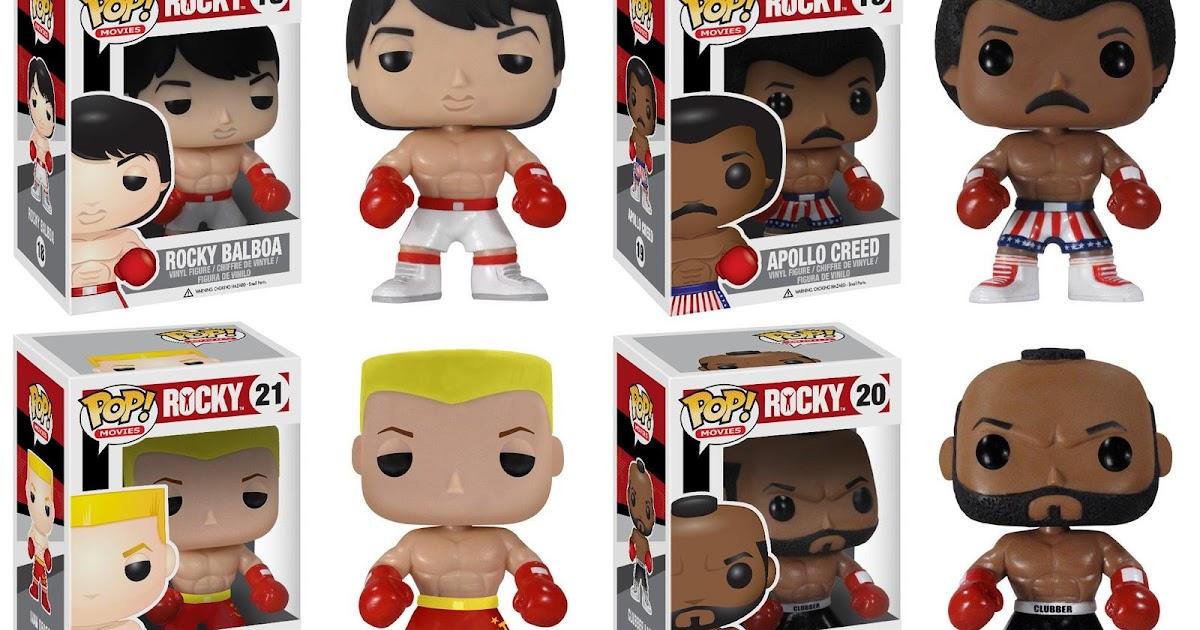 The Blot Says Rocky Pop Vinyl Figures By Funko