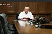Jika Kondisi Stabil, Trump Boleh Pulang ke Gedung Putih