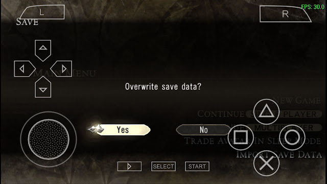 save game god eater 100 complete ppsspp