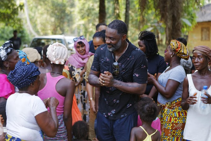 'Avoid Needless Hunger And Suffering': Idris Elba For Poor Farmers