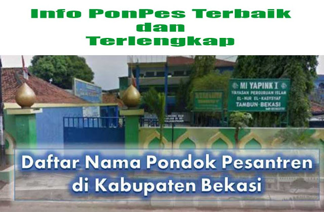 Pesantren di Bekasi