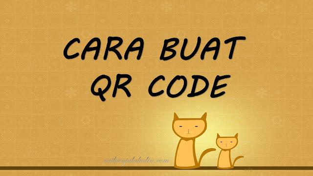Cara Buat QR Code