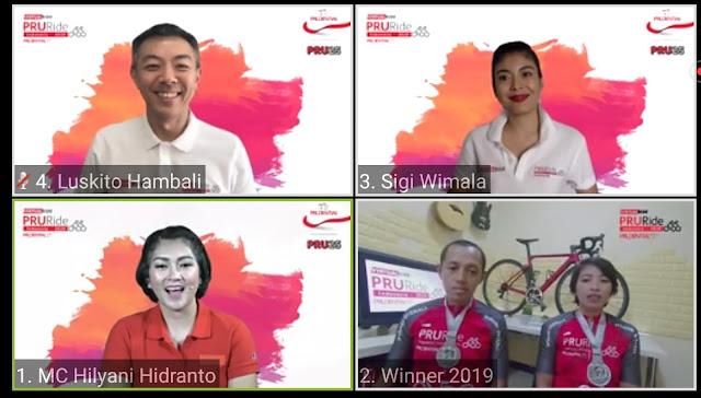 PRURide Indonesia 2020 Virtual Ride: Panggilan Untuk Pencinta Olahraga Sepeda