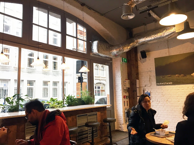 Farmstand Covent Garden interior