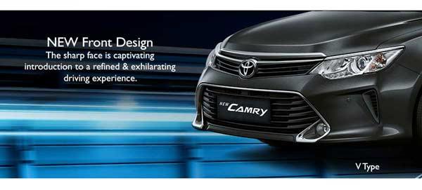 Exterior New Toyota Camry