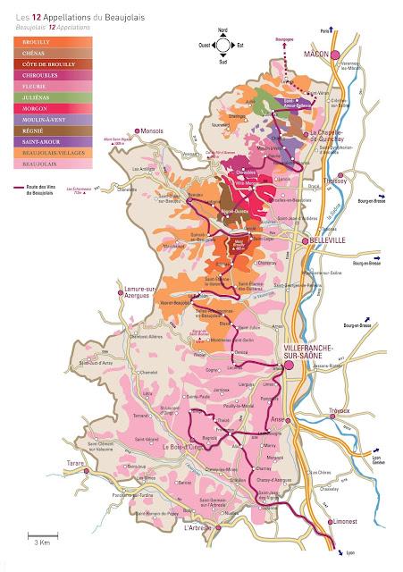 vignobles beaujolais