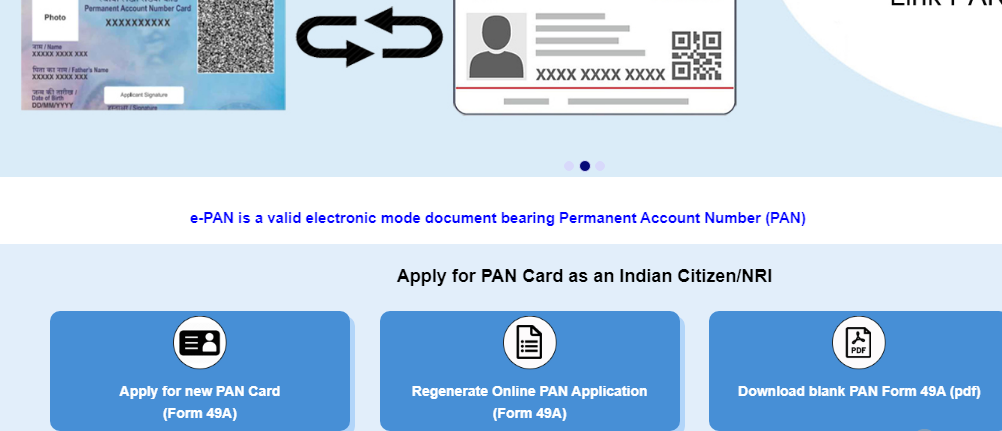 How to Apply for Your PAN Card Online