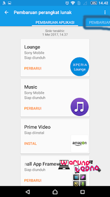 UPDATE  SONY XPERIA ANDROID™ 3