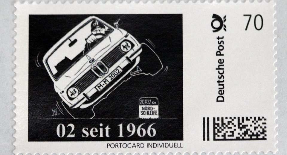 BMW 02 Celebrates 50th Anniversary With Special Postage Stamp