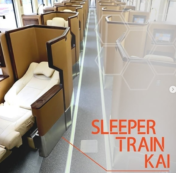 Kereta Api Sleeper luxury 2 Terbaru