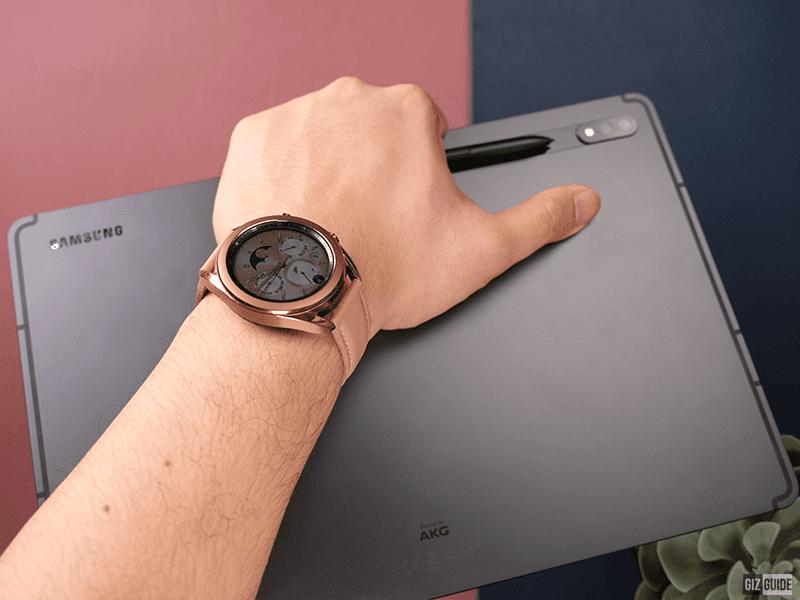 Samsung Galaxy Tab S7+ and Galaxy Watch3