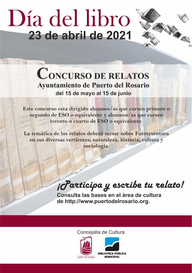 Fuerteventura.- Puerto del Rosario convoca, con motivo del Día del Libro, un concurso de relatos dirigido al alumnado de institutos de secundaria