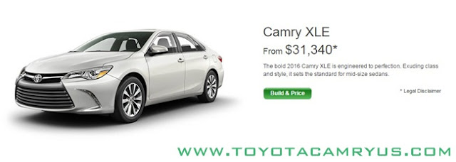 2017 Toyota Camry Sedan LE, SE and XLE / Hybrid Silver