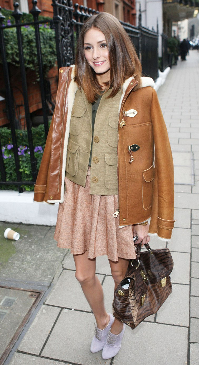 What Color Is Sienna >> Fashionistas Beware: Olivia Palermo Style