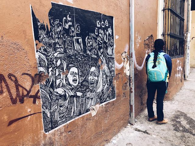 Street art Oaxaca