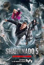 Sharknado 5: Aletamiento Global Poster