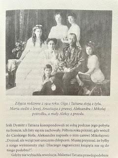 """ostatni car Rosji, Mikołaj II Romanow, z rodziną, """"Sekret Tatiany"""" Gill Paul , fot. paratexterka ©"""