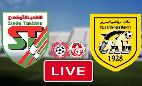 Live Streaming Match Stade Tunisien vs CA Bizertin