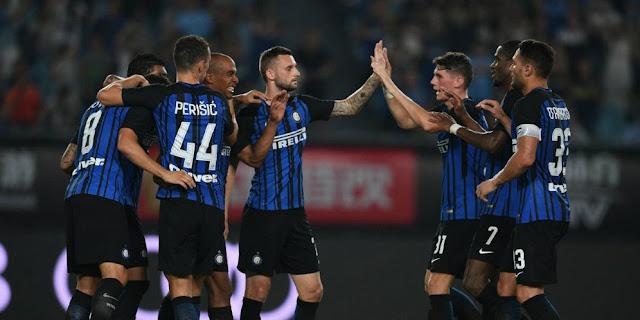 SBOBETASIA - Gol Jovetic Menangkan Inter Atas Lyon