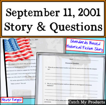 story about 9/11,  noworkonlaborday, #TpT #dollardeals